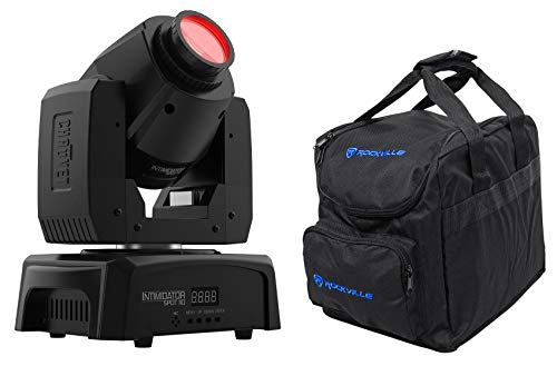 Chauvet Intimidator Spot 110 Compact Moving Head Beam Gobo DMX Light+Carry Bag