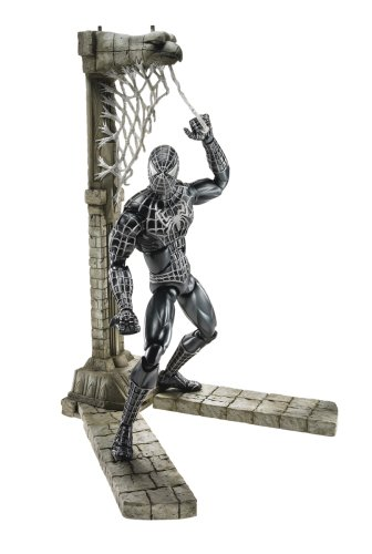 Suited Spider Man 3 Costume (Spider-Man 3 Unleashed 360 Black Suited)