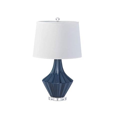Amazon Com Nikki Chu Mason Blue And White Table Lamp 16 X