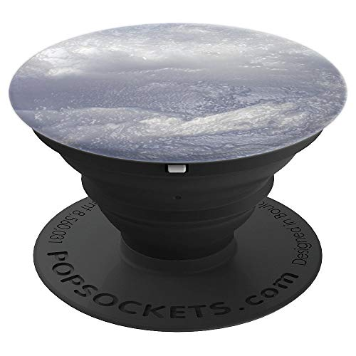Plastic wrap clouds (sky). Bias relief - PopSockets Grip and Stand for Phones and Tablets