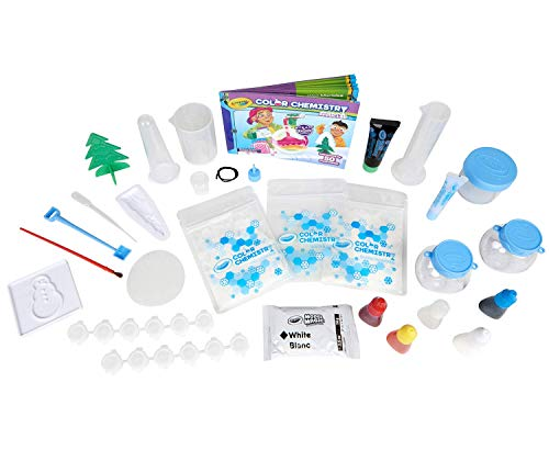 41Pays5uljL - Crayola Artic Color Chemistry Set for Kids, Steam/Stem Activities, Educational Toy, Ages 7, 8, 9, 10