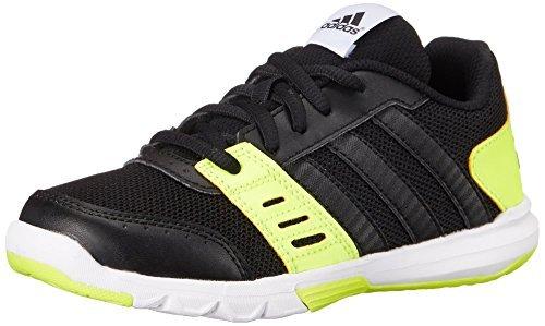 6.5 M US Big Kid Black//White//Yellow Little Kid//Big Kid adidas Performance Essential Star 2 K Training Shoe