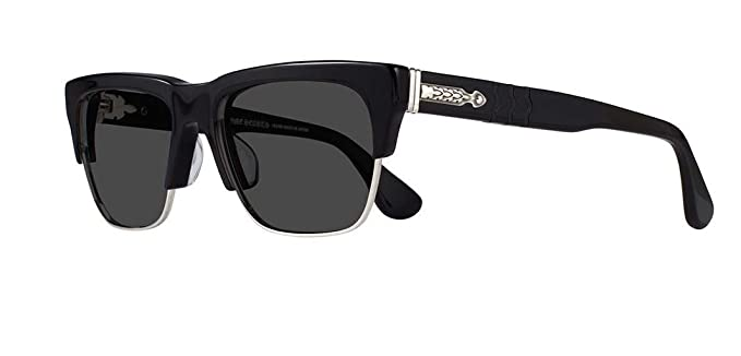 132c493bf064 Amazon.com  Chrome Hearts - Klosterfuck 57- Sunglasses (Black Shiny ...