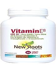 New Roots Vitamin E8 400IU 60 Softgels