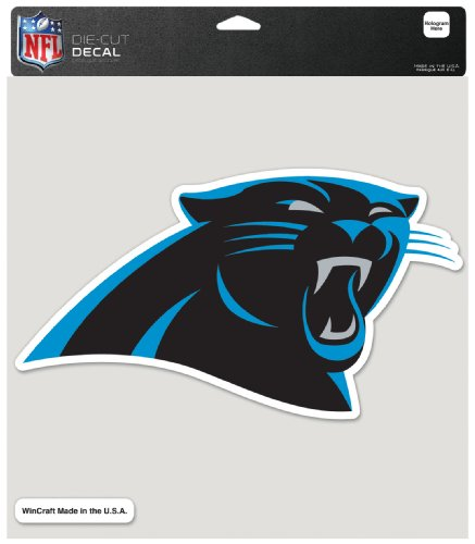 panthers window decal - 8