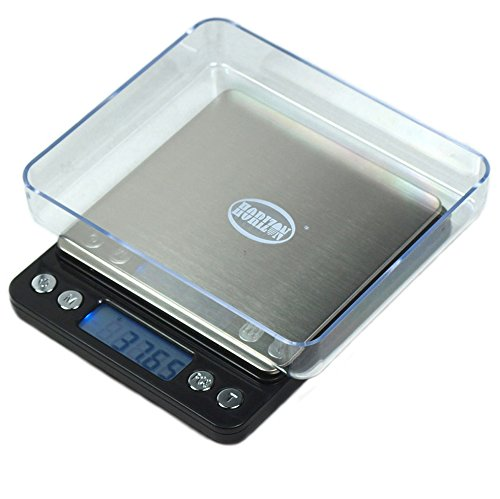 Horizon ACCT-500 Digital Precision Jewelry Scale w/ Trays, 500 g by 0.01 g by Horizon