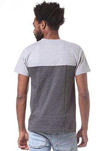 Wemoto Herren T-Shirt Shorty - Heather/Black Nep