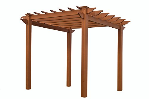Lakewood 6.5' x 6.5' Composite Pergola by New England Arbors