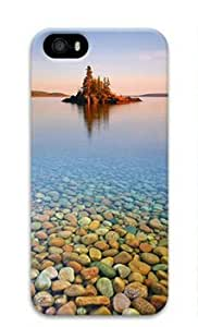 phone covers iPhone 5c Case, Island on Lake Case for iPhone 5c 3D PC Material