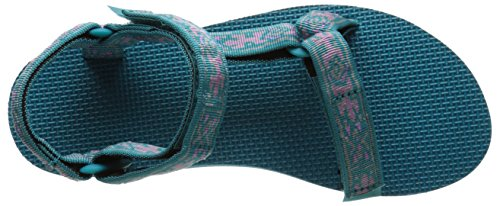 Teva Damen Original Universal Sandale Altes Eidechse-See-Blau