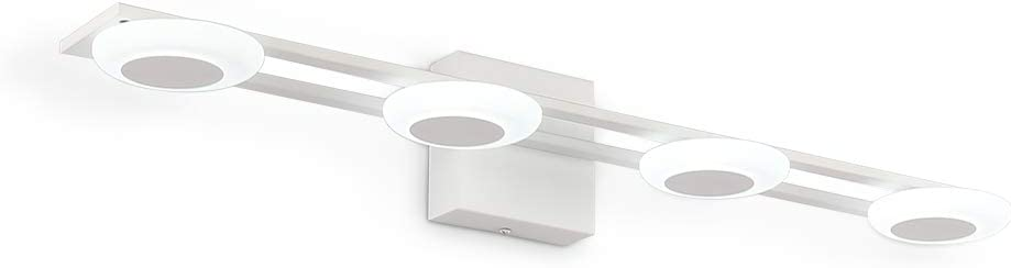 Vanity Lights 27.5in Modern Iron and Acrylic Bathroom Vanity Lights 14W Daylight White Bedroom Vanity Lights
