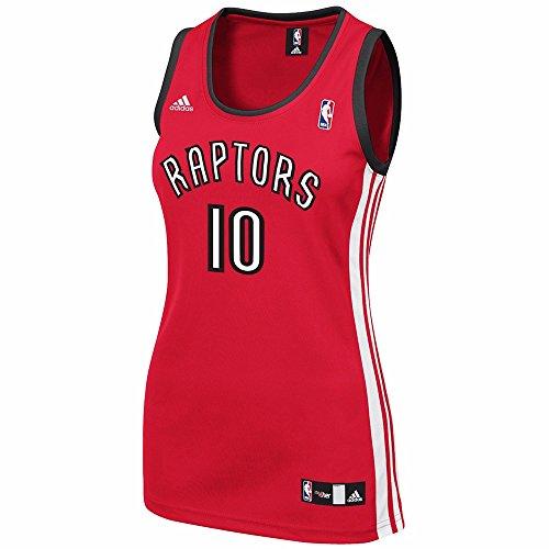 finest selection 6a15e 9199c 85%OFF DeMar Derozan Toronto Raptors NBA Adidas Women's Red ...