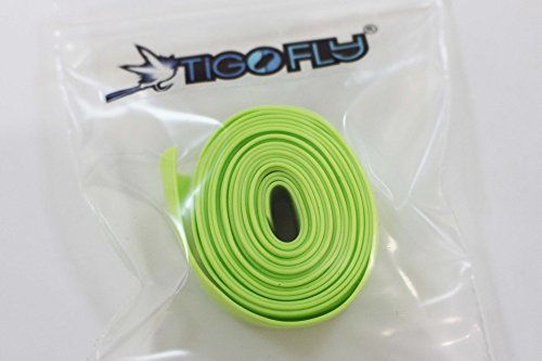 120cm Silicone Skirts 6 Colors 0.7mm thick Round Cylinder DIY Spinner Bait Squid Rubber Thread Fly Tying Materials (Light Green)