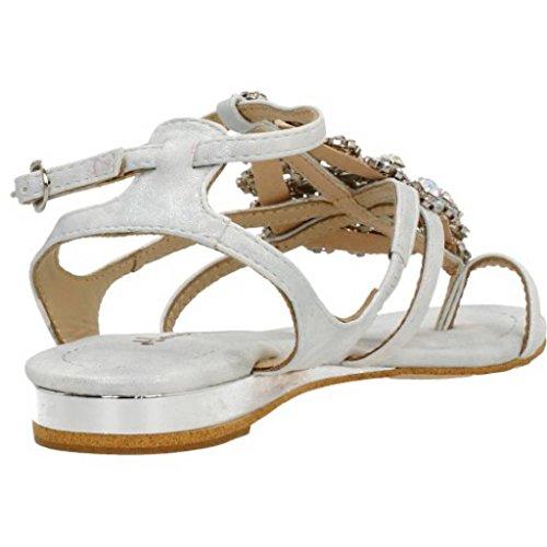 Sandalias y chanclas para mujer, color Plateado , marca ALMA EN PENA, modelo Sandalias Y Chanclas Para Mujer ALMA EN PENA V17410 Plateado Plateado
