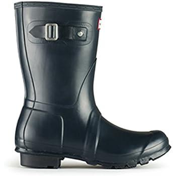 d8f180dae818 Hunter Womens Original Short Navy Matte Rain Boot