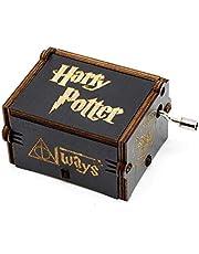 su ma Caja de música Harry Potter Pure Hand-classical Caja de música Hand-wooden Artesanía de madera creativa Best Gifts