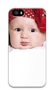 iPhone 5 5S Case Super Cute Little Baby 3D Custom iPhone 5 5S Case Cover