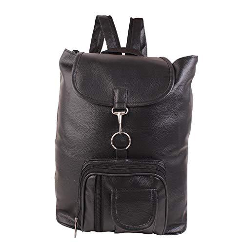 DAMDAM Stylish Leather Girls school bag travel bag college bag girls & womens Casual office shoulder backpack handbags