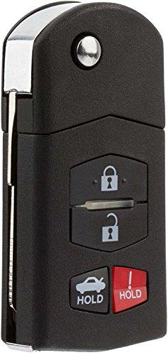 Mazda Key - KeylessOption Keyless Entry Car Remote Control Key Fob Replacement for BGBX1T478SKE125-01