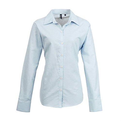 Premier Frauen Signature Oxford Langarm-Shirt gris argent 36