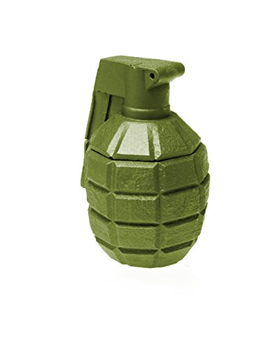 Candellana Candles Candlefort Candles Concrete Grenade Olive, Scent: for Him