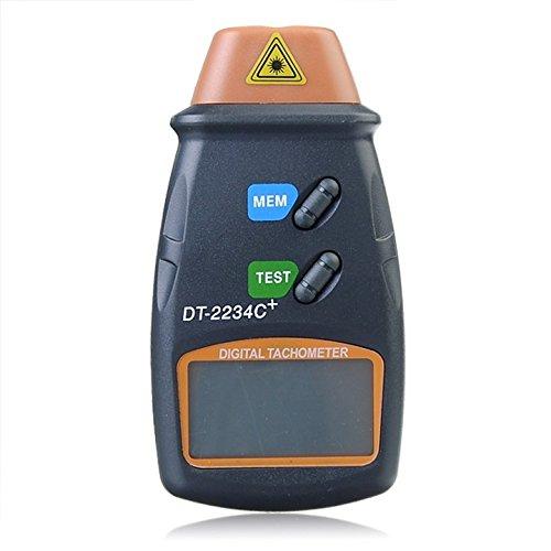 非接触式レーザー測定タコメーター プロペラやモーター等の高速回転測定に ハンディサイズ 回転計 FMTDT2234C<br />