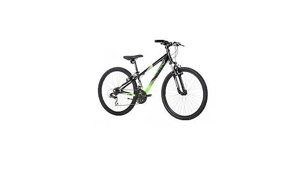 Monty KY8 - Bicicleta de montaña para niño, Color Negro/Verde, 13 ...