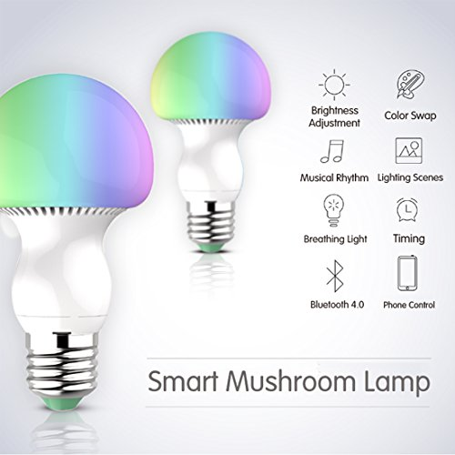Uxcell Bluetooth Smart Light Bulb