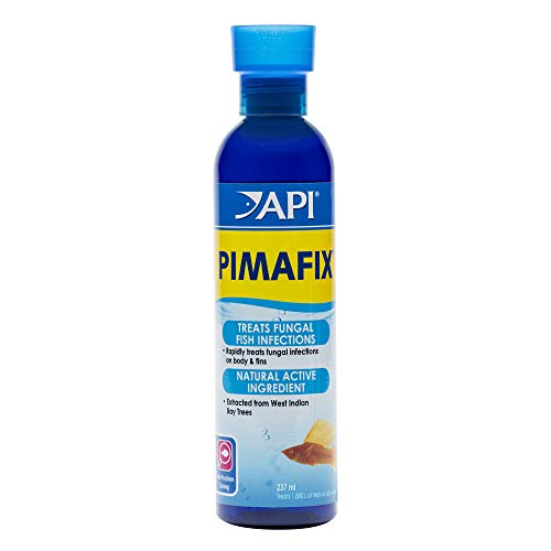API PIMAFIX Antifungal Freshwater and Saltwater Fish Remedy 8-Ounce Bottle (100 Zyme Caps)