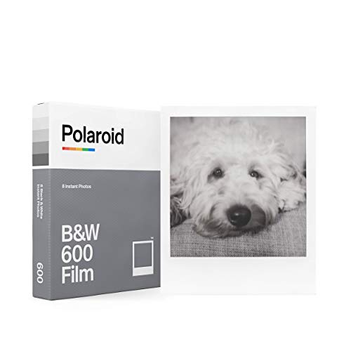 papel fotografico Polaroid 600 blanco y negro (8 fotos)
