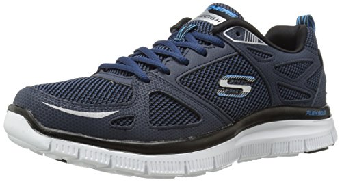 Skechers Flex Advantage First Team, Zapatillas de Deporte para Hombre Azul (NVBL)