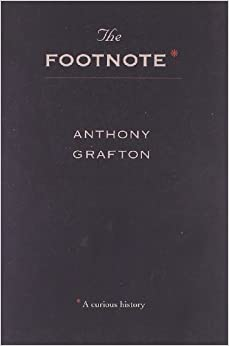 Book The Footnote - A Curious History (Paper) (Cobee)