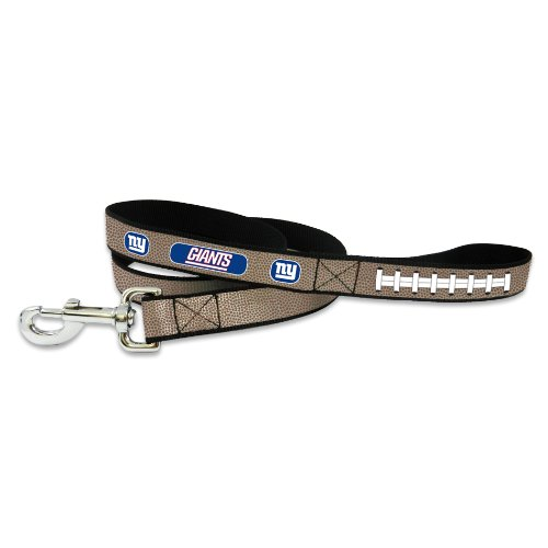 5' Small Bowl (GameWear NFL New York Giants Reflective Football Leash, Small)