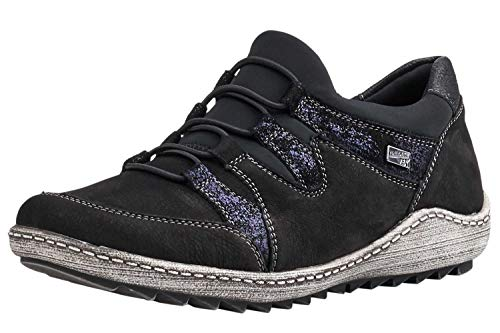 Black Remonte Women's Trainers Women's Remonte fn4ZqWpp