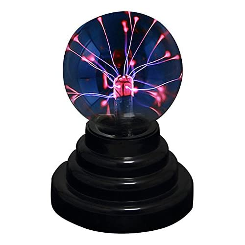 RioRand RR-USB-6IN  Plasma Ball Lamp Light [Touch Sensitive] Nebula Sphere Globe Novelty Toy - USB or Battery Powered