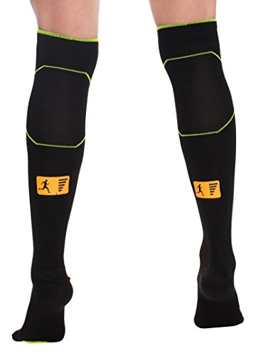 Premium Compression Socks [Graduated Compression for Men and Women] Running, Flight Travel, Pregnancy, Shin Splints, Recovery, Daily Use. [ Prevents Cramps and Minimizes Muscle Fatigue]