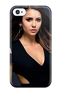 Cute Appearance Cover/tpu WhsydKZ4117ZKrOr Nina Dobrev Case For Iphone 4/4s