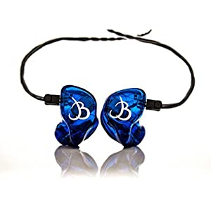 EarTech Music Quad Driver Custom Molded In Ear Musician Monitors Headphones