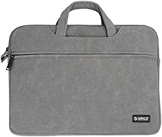 ORICO 13.3 Inch Waterproof Nubuck Leather Sleeve Briefcase Handbag, Multifunctional Carrying Case Protective Bag Cover...