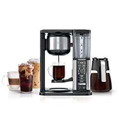 Bring the coffeehouse home with the Ninja Specialty Coffee maker. Combine super rich Coffee concentrates with hot or cold frothed milk to create delicious coffeehouse style drinks or enjoy flavorful Iced Coffee that never tastes watered down....
