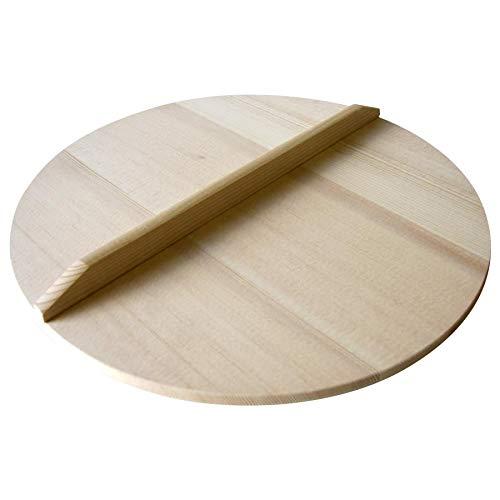 木の温かみのある鍋蓋。 市原木工所 日本製 業務用 鍋蓋 落し蓋 直径57cm 24219 〈簡易梱包   B07RVJZQ3F