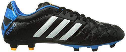 Bitta Da Calcio Adidas Adipure 11nova Fg (nucleo Nero, Blu Solare) Sz. 7.5