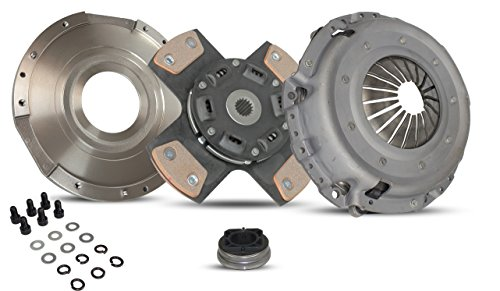 Clutch Kit Works With Chrysler PT Cruiser Touring Limited Base Street Cruiser 2001-2006 2.4L L4 GAS DOHC Naturally Aspirated(Modular Clutch Kit; Non Turbo; 4-Puck Clutch Disc Stage 2)