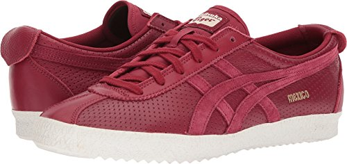 Onitsuka Tiger by Asics Unisex Mexico delegation Burgundy/Burgundy Men's 4, Women's 5.5 Medium by Onitsuka Tiger