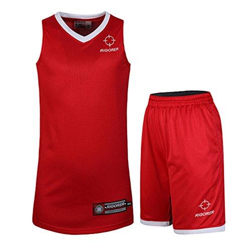 Rigorer Basketball Jersey & Shorts Trainning Tank Top Suits SetRigorer Basketball Jersey & Shorts Uniform Trainning Tank Top Suits Set ()