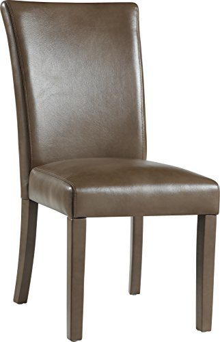 Global Furniture Dining Chair, Blanche Walnut -