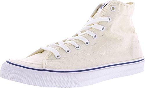 Vans Kvinna Sk8-hi Decon Höjd Topp Snörning Mode Sneakers Klassiska Vit / Sanna Vit