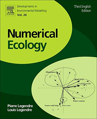Numerical Ecology (Volume 24) (Developments in Environmental Modelling (Volume 24))