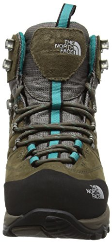 The North Face Verbera Hiker Ii Gore-Tex, Botines para Mujer, Morado Marrón / Verde