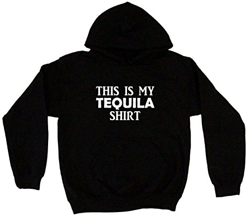 This is My Tequila Shirt Men's Hoodie Sweat Shirt XXXXL (4XL), (Mezcal Reposado)